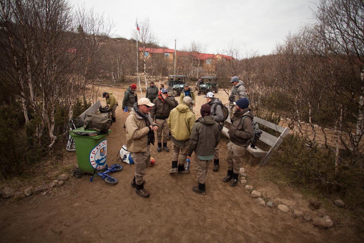 рыбалка на Поное. Лагерь Рябога.