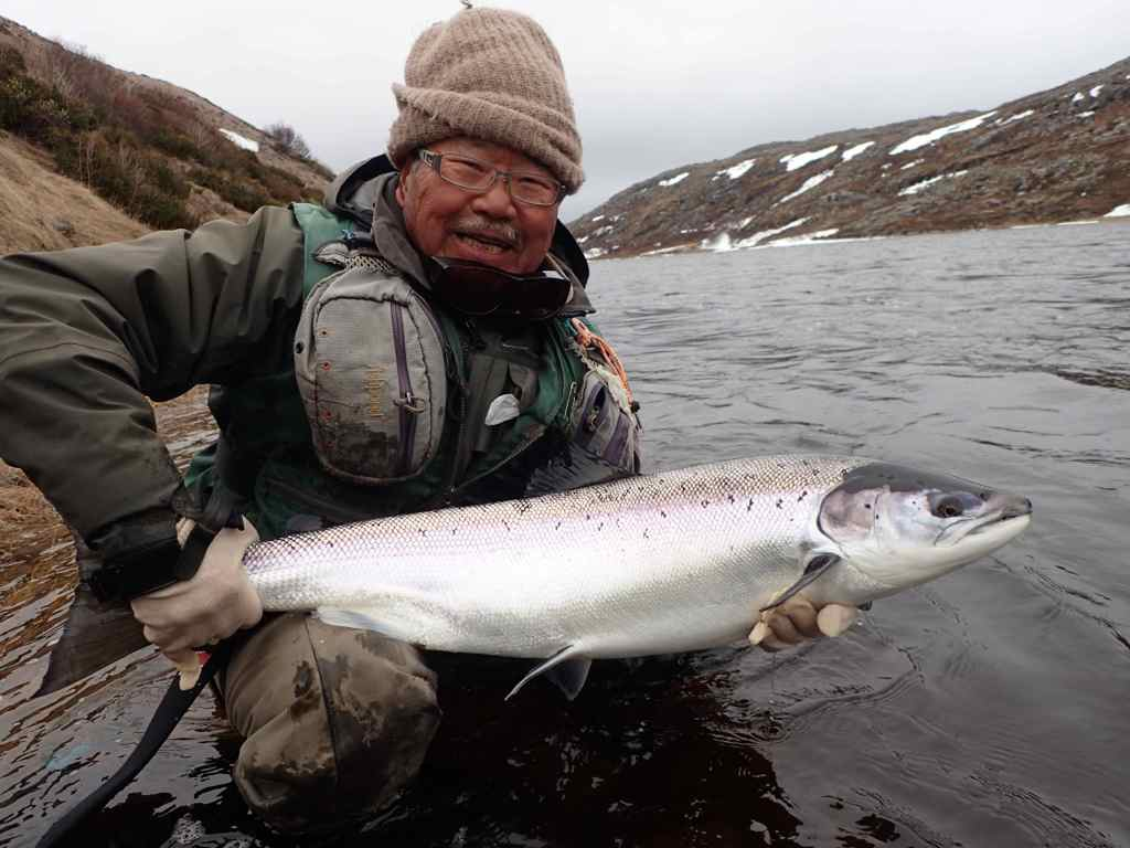 рыбалка на Кольском полуострове, реке Харловка и Рында 2017