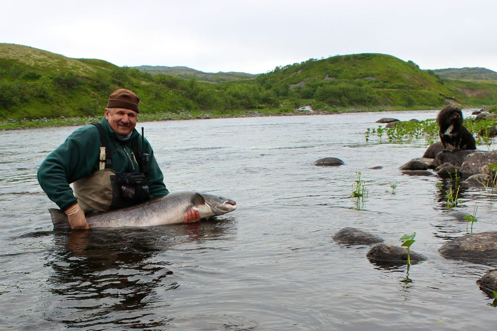 кольский полуостров рыбная ловля