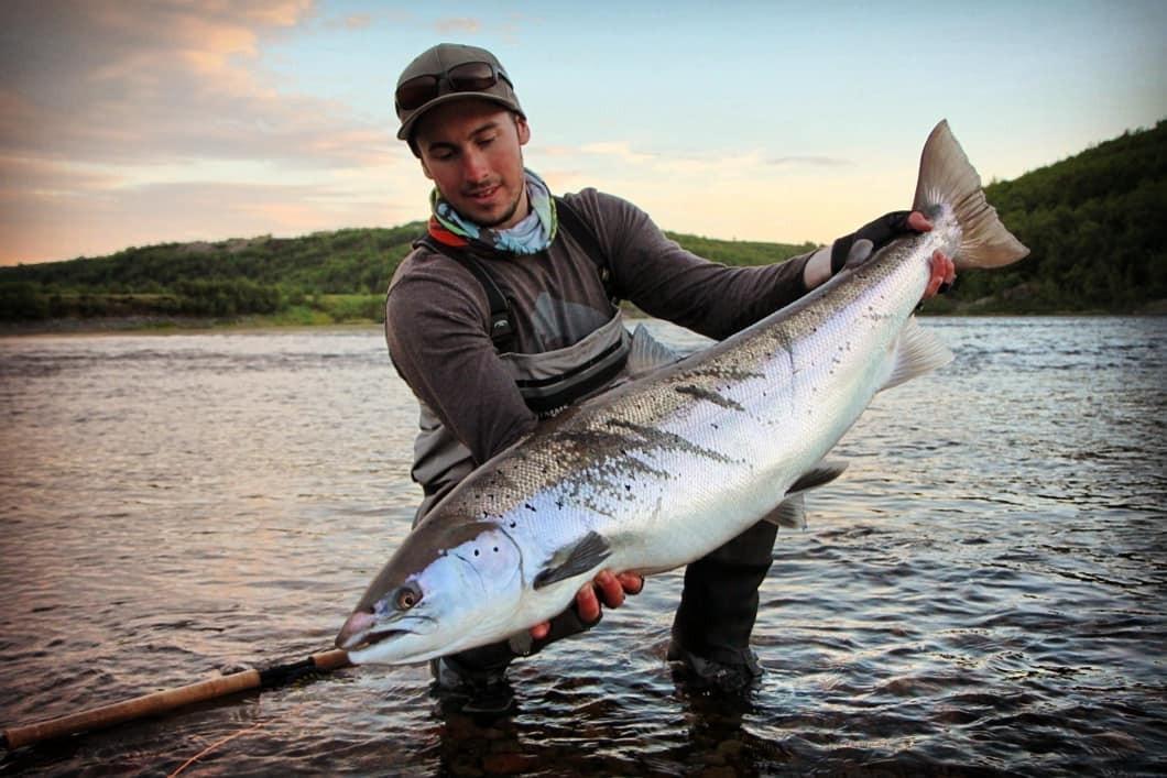 рыбалка и рыболовные туры Кольский полуостров, река Белоусиха