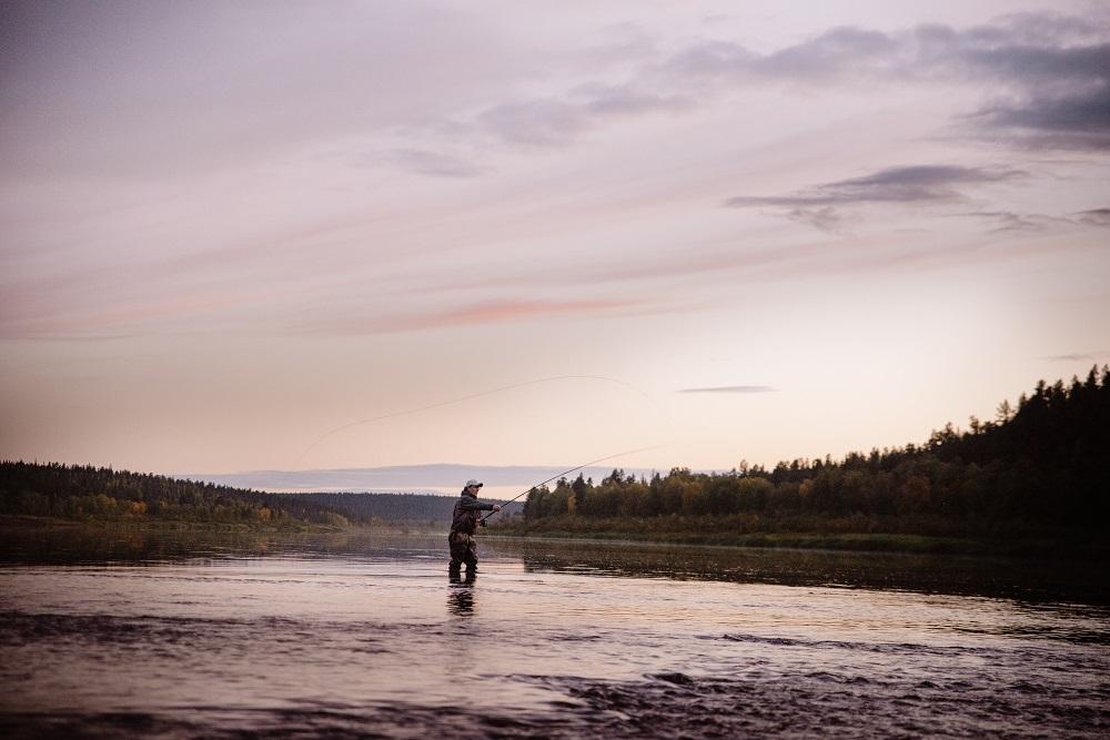 рыбалка на Поное лагерь Пача.