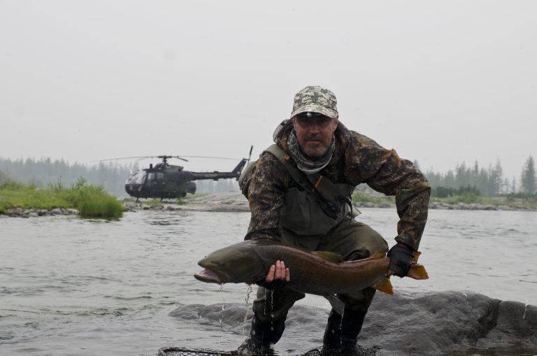 Рыбалка на плато путорана 2019